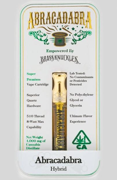 Brass knuckles Abracadabra