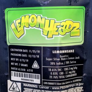 Jungle boys Lemon headz